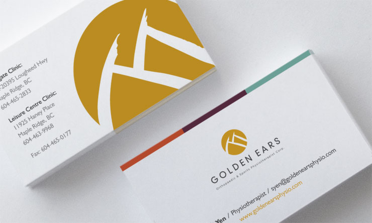 golden-ears-physio-business-cards