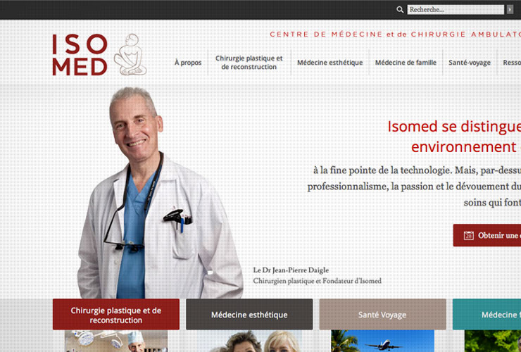 Isomed Website