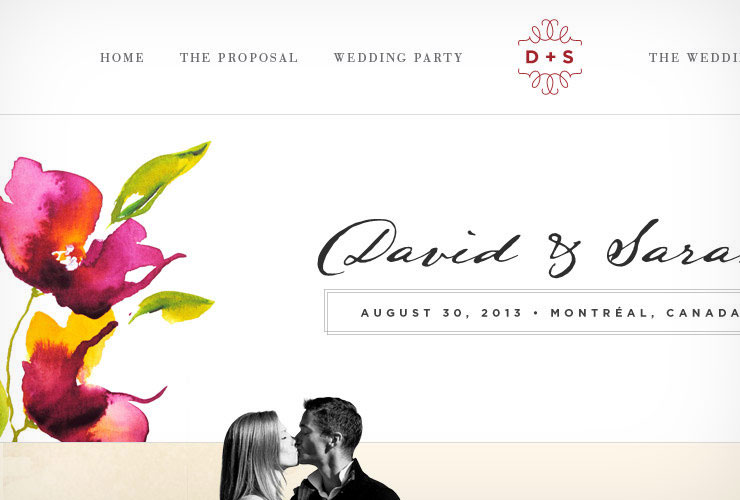 Wedding Website Design