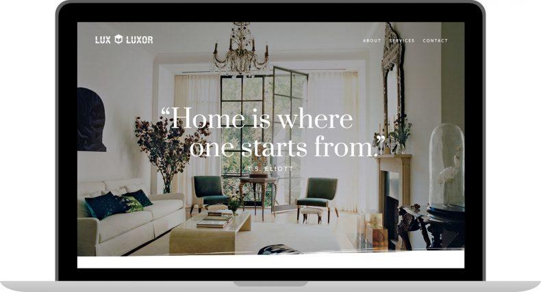 Lux Luxor Website Design